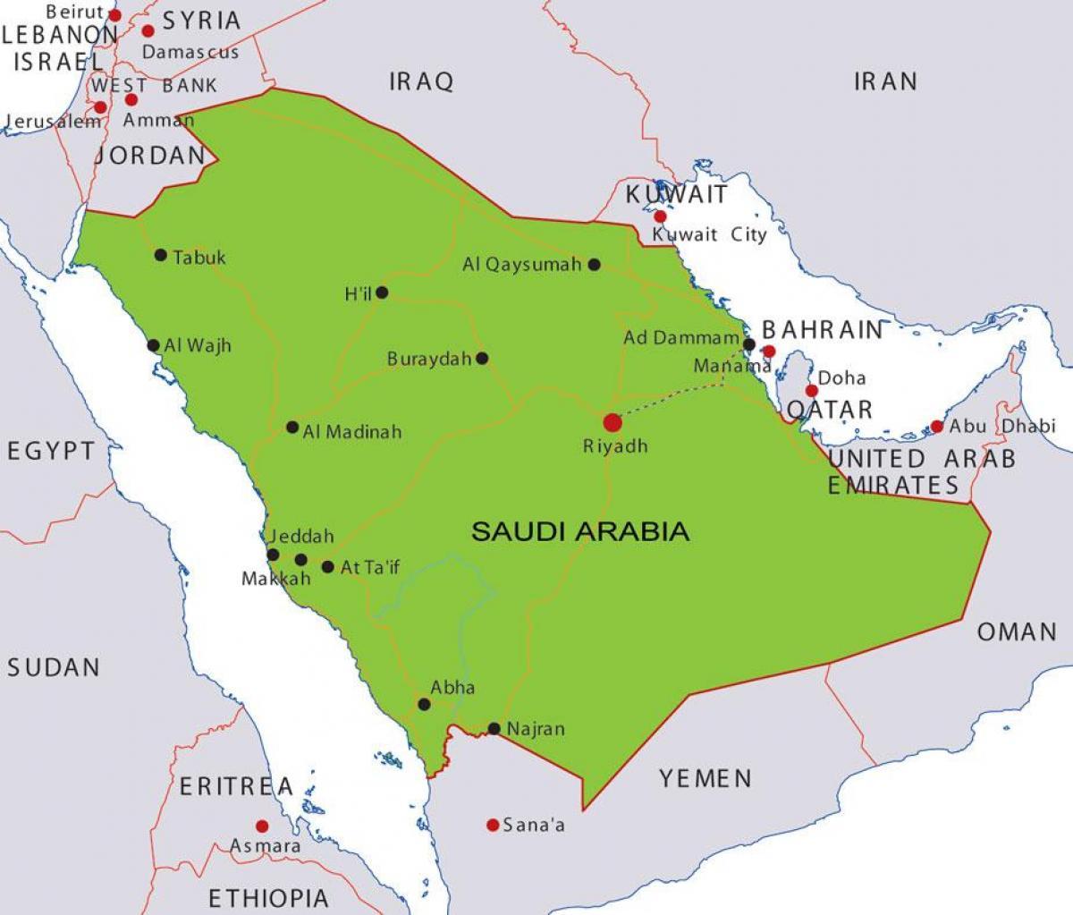 University Of Bahrain Kort Kort Over Universitetet I Bahrain